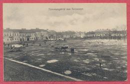 "Stimmungsbild Aus Szczuczyn - Polen Polska Pologne  Krieg 1914-18 / German Postmarks 1917 Feldpost Nr 220 "" Flieger 35 "" - Poland"
