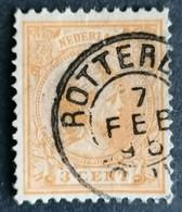 Nederland/Netherlands - Nr. 34c (gestempeld/used) - Used Stamps