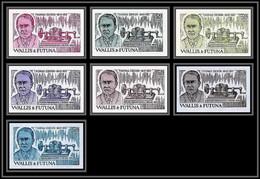 90765f Wallis Et Futuna Et Futuna N° 275 Edison Télégraphe Télégraphlot 7 Couleurs Essai Non Dentelé Imperf ** MNH - Telekom