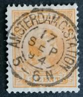 Nederland/Netherlands - Nr. 34c Stempel A'dam CStation - Used Stamps