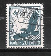 Reich Poste Aérienne N° 46 Oblitéré - Aéreo