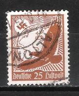 Reich Poste Aérienne N° 47 Oblitéré - Aéreo