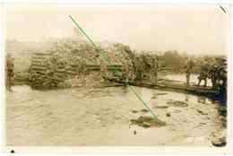 14-18.WWI Fotokarte-Deutsche Soldaten - Sturmtrupp Stahlhelm Stellung Interressant !!! - 1914-18