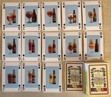 BELGIAN BEERS - Jeu De Cartes COMPLET (52 Cartes + 2 Jokers) (Speelkaarten, Playing Cards) Bier, Bière - Barajas De Naipe