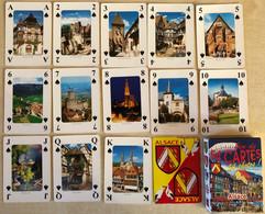 ALSACE - Jeu De Cartes COMPLET (52 Cartes + 2 Jokers) (Speelkaarten, Playing Cards) - Barajas De Naipe
