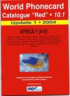 WORLD PHONECARD-RED-10.1 AFRICA 1 (A-E) - Books & CDs