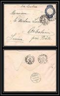 3971/ Brésil (brazil) Entier Stationery Enveloppe (cover) N°18 Sao Paulo Pour Arlesheim Suisse (Swiss) 1908 Via Lisboa - Enteros Postales