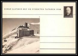2388 Tchécoslovaquie Czechoslovakia Entier Stationery Carte Postale (postcard) N°100 Benes 1.50k 1948 - Postales