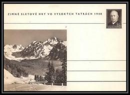 2390 Tchécoslovaquie Czechoslovakia Entier Stationery Carte Postale (postcard) N°100 Benes 1.50k 1948 - Postales