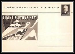 2392 Tchécoslovaquie Czechoslovakia Entier Stationery Carte Postale (postcard) N°100 Benes 1.50k 1948 - Postales