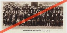 BOERINNENGILDE - LANGDORP  -  GEDRUKTE AFBEELDING  (TIJDSCHRIFT 1935) - Sin Clasificación