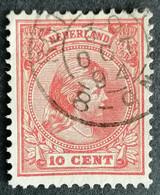 Nederland/Netherlands - Nr. 37c (gestempeld/used) - Used Stamps