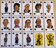 BELGIAN POLITICIAN - Jeu De Cartes COMPLET (52 Cartes + 2 Jokers) (Speelkaarten, Playing Cards) Bier, Bière - Barajas De Naipe