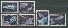 2247/ Espace (space)  Neuf ** MNH Bulgarie (Bulgaria) 3242/3247  Navette Hubble / Atlantis - Europa