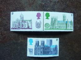 1969  British Architecture Cathedrals    SG = 797 To 799   **  MNH  Perfect - Ungebraucht