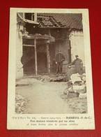 MAROEUIL    -  Militaria  -    Une Maison éventrée Par Un Obus   -   Guerre   1914-1915   - - Arras
