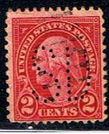 ÉTATS-UNIS 2554 // YVERT 229 // 1922-25 - Perforados