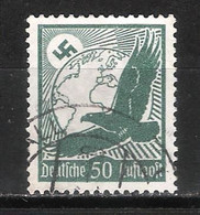 Reich Poste Aérienne N° 49 Oblitéré - Aéreo