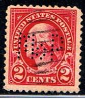 ÉTATS-UNIS 2556 // YVERT 229 // 1922-25 - Perforados