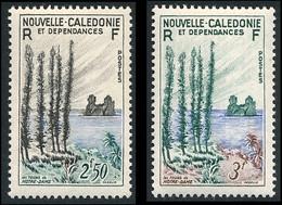 NOUV.-CALEDONIE 1955 - Yv. 284 Et 285 **   Cote= 12,72 EUR - Tours De Notre-Dame (2 Val.)  ..Réf.NCE26778 - Nuovi