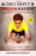 CYCLISME: CYCLISTE : CARTE DE LA PIECE DE THEATRE SUR JACQUES ANQUETIL - Ciclismo