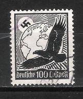 Reich Poste Aérienne N° 51 Oblitéré Gommage Horizontal Michel 537y - Aéreo