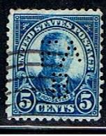 ÉTATS-UNIS 2560 // YVERT 232 // 1922-25 - Perforados