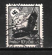 Reich Poste Aérienne N° 51 Oblitéré Perforé KB - Aéreo