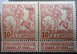 N°98 X 2 Mnh** Cote 90 Euros - 1910-1911 Caritas