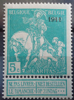 N°97 Mnh** Cote 45 Euros - 1910-1911 Caritas