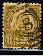 ÉTATS-UNIS 2561 // YVERT 235 B // 1922-25 - Perforados
