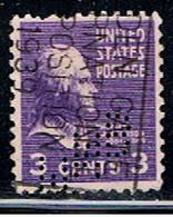 ÉTATS-UNIS 2562 // YVERT 372 // 1938 - Perforados