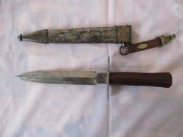 Couteau / Poignard Le Vengeur 1914 Avec Marquage - Blankwaffen