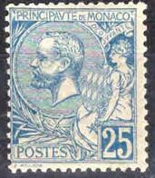 Monaco -1901 -  Albert I  - N° 25    - Neuf *  -  MLH - - Unused Stamps