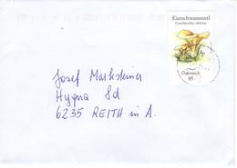 Brief Von 4323 Münzbach Mit 85 Cent Pilze Eierschwammerl 2021 - 2011-... Cartas