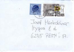 Brief Von 8020 Neumarkt In Der Steiermark Mit 85 Cent Mischfrankatur Kaiser Maximilian 2021 - 2011-... Cartas