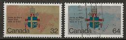 CANACA: Obl., N° YT 889 Et 890, TB - Usados