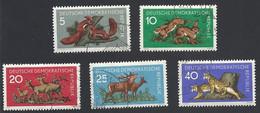 DDR, 1959, Michel-Nr. 737-741, Gestempelt - Used Stamps