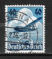 Reich Poste Aérienne N° 54 Oblitéré - Aéreo