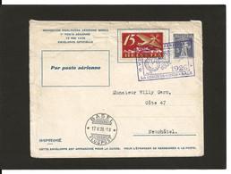 15.5.1926 La Chaux-de -Fonds  = Bale Entier Postal - Erst- U. Sonderflugbriefe