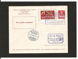 15.5.1926 Le Locle  = Bale Entier Postal - Erst- U. Sonderflugbriefe