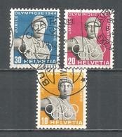 Switzerland 1944 Year , Used Stamps Mi # 428-30 - Usados