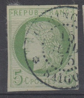 #154 COLONIES GENERALES N° 17 Oblitéré Saigon (Cochinchine) - Ceres