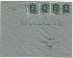 Carta A Suiza Matasellos Ambulante - Briefe U. Dokumente
