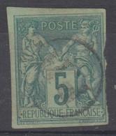 #154 COLONIES GENERALES N° 31 Oblitéré PD (Réunion) - Sage