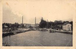 Ecuisses Usine Céramique Société GCB Canal Du Centre Péniche Péniches Canton Montchanin - Andere Gemeenten