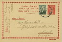 Turkey Postal Card (456) - Briefe U. Dokumente