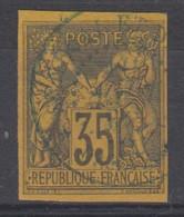 #154 COLONIES GENERALES N° 45 Oblitéré En Bleu Dakar Sénégal Et Dépendances (Sénégal) - Sage