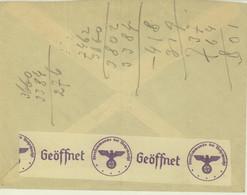 Turkey Censor Cover To Czechoslovakia (458) - Briefe U. Dokumente