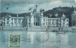 CPA Europe > Italie > Piemonte > Torino (Turin) > Expositions ESPOSIZIONE 1911 - PADIGLIONE URUGUAY Tribaudino Libreria - Exposiciones